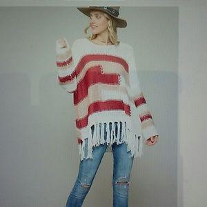 FALl NEW! Boho fringe sweater !